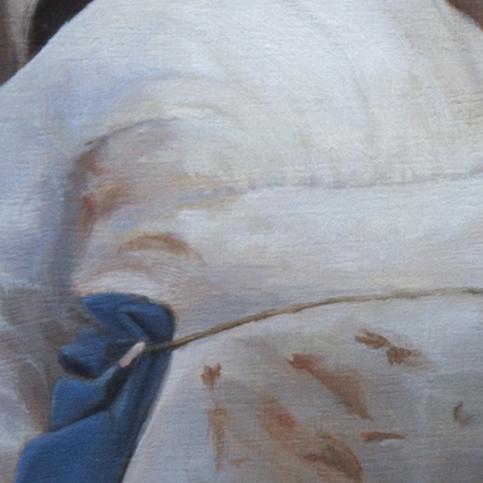 detail het geslachte rund